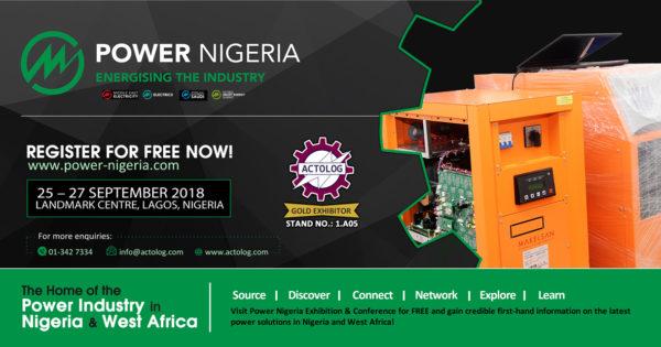 Actolog Exhibits at Power Nigeria 2018