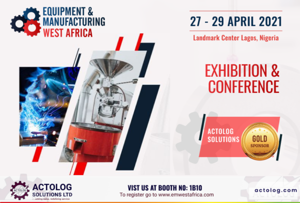 Join Us At The Equipment & Manufacturing West Africa (EMWA)